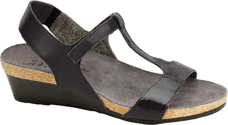 Naot Women's Unicorn T-Strap Wedge Sandal