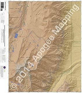 Mount Morgan, California 7.5 Minute Topographic Map - Waterproof Paper