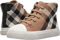 Burberry Kids - Belford Check Trainer (Toddler/little Kid)