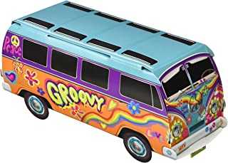 "Beistle 57326 3-D 60's Bus Centerpiece, 9.75"", Multicolored"