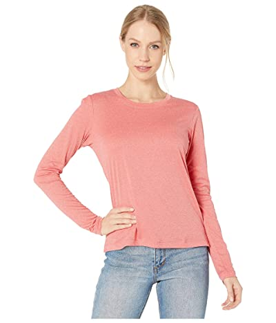 Hurley Long Sleeve Quick Dry Tee (Speed Red Heather) Women