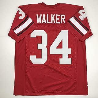 Unsigned Herschel Walker Georgia Red Custom Stitched College Football Jersey Size Men's XL New No Brands/Logos