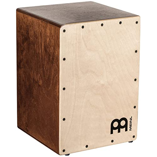 Meinl Cajon Box Drum with Internal Snares - MADE IN EUROPE - Baltic Birch Wood Compact