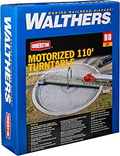Walthers, Inc. Motorized Turntable Assembled Train, 16-7/16