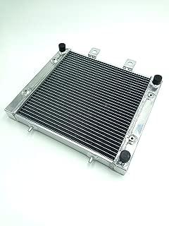 Gzyf Cooler Radiateur pour Yamaha YZF R1/2002/2003/EN Alliage daluminium Noir