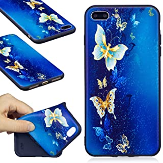 iPhone 7 Plus Case, Firefish Ultra-Slim Soft TPU Rubber Silicone Case Impact Resistant Durable Protective Back Cover Case for Apple iPhone 7 Plus