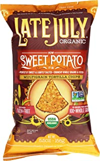 Late July Organic How Sweet Potato It Is Snack Chip, 5.5 oz
