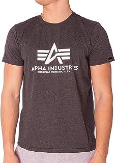 ALPHA INDUSTRIES Basic T-Shirt Camiseta para Hombre