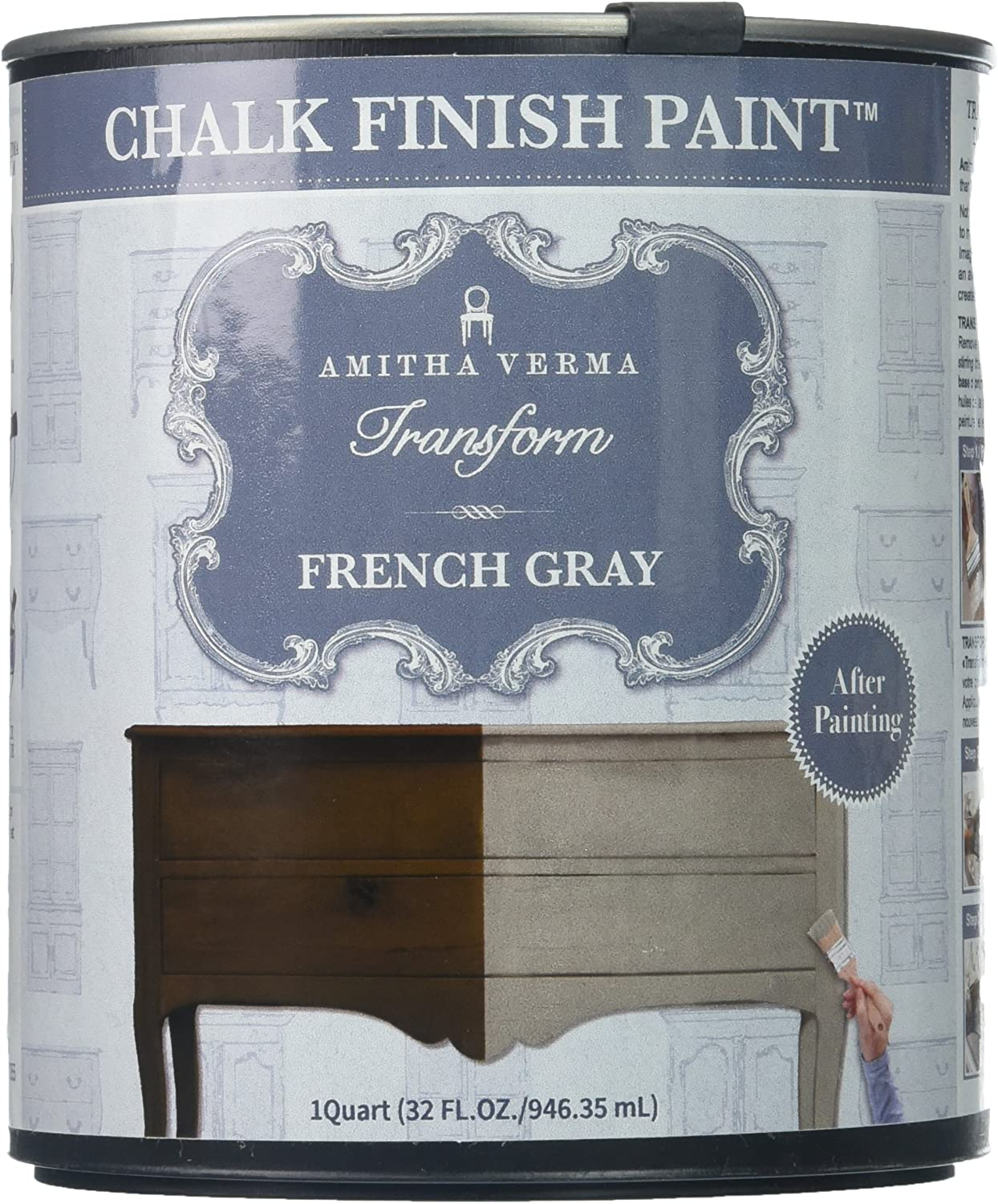 Amitha Verma Chalk Finish Award Paint No NEW before selling ☆ One Drying Fast Prep Coat