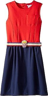 [マークジェイコブス] Little Marc Jacobs レディース Milano Pop Corn Belt Dress (Big Kids) ドレス [並行輸入品]