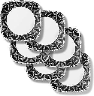Corelle 18-Piece Service for 6, Chip Resistant Dinnerware Set, Imani