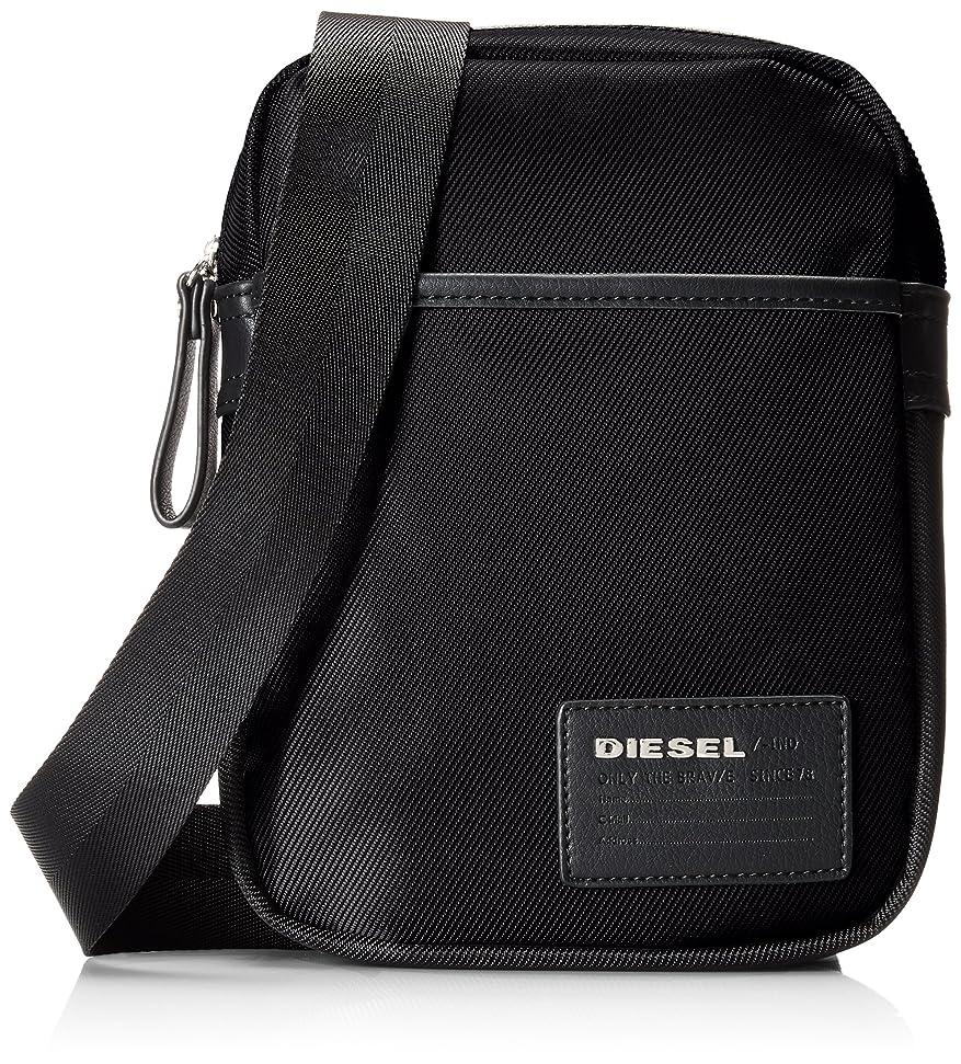 破壊するブローホール展開する(ディーゼル) DIESELメンズ 斜めがけバッグ BEAT THE BOX FUZZY - cross bodybag