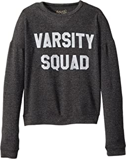 The Original Retro Brand Kids - Varsity Squad Haaci Pullover (Big Kids)