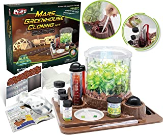 Playz Mars Greenhouse Cloning Kids Science Kit, Grow an Outer Space Indoor Garden with Multiple Kid STEM Science Experimen...