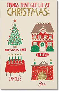 American Greetings Funny Christmas Card (Lit)