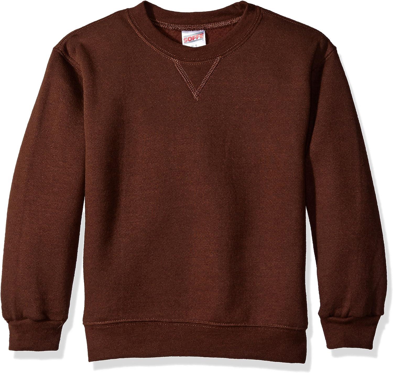 Soffe Big Boys' Crew Sweatshirt