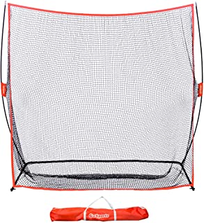 GoSports Golf Practice Hitting Net | Choose Between Huge 10' x 7' or 7' x 7' Nets | Personal Driving Range for Indoor or O...
