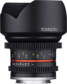 Rokinon Cine CV12M-MFT 12mm T2.2 Cine Fixed Lens for Olympus/Panasonic Micro 4/3 Cameras