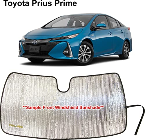 lowest YelloPro new arrival Auto Custom Fit Car Front Windshield Reflective Sunshade Protector for 2017 2018 2019 2020 2021 2021 Toyota Prius Prime Hatchback, Sun Shade Accessories, Made in USA online sale
