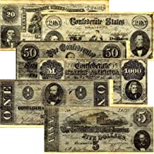 Best confederate currency reproductions set a Reviews