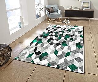 NAZAR Tapis DE Salon Moderne   Design Abstrait   Couleur ET Taille  DIFFERENTE (Vert,