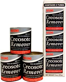 Rutland Products Creosote Remover, 3 oz. Toss-in Canister (3-Pack), Beige