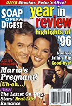 John Eva LaRue Callahan, Keith Hamilton Cobb, Sydney Penny, All My Children - December 17, 1996 Soap Opera Digest Magazine Year in Review