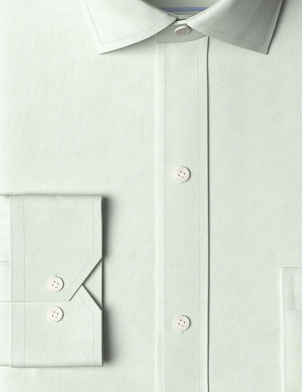 Buttoned Down Herren Smoking Hemd Tailored Fit Spread Collar Solid Non-iron Dress Shirt Marke