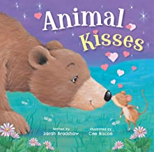 Animal Kisses (Padded Board Book)