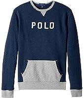 Polo Ralph Lauren Kids - Cotton French Terry Sweatshirt (Big Kids)