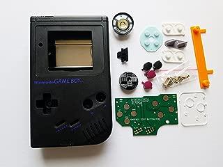 Black Starter Kit Gameboy Zero DMG-01 4 Button PCB DIY W/ Case Speaker & Buttons by Atomic Market