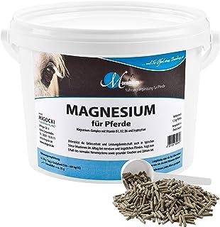 MIGOCKI Magnesium – 1,5 kg – Premium Nahrungsergänzung für Pferde – Unterstützt die Gelassenheit und Leistungsbereitschaft von Pferden – Pellets