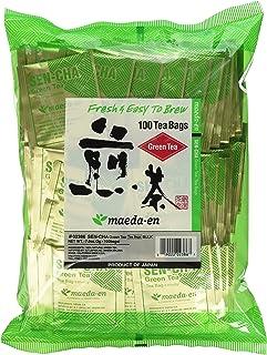 Authentic Maeda-en Japanese Sencha Green Tea – 100 Foil-Wrapped Tea Bags