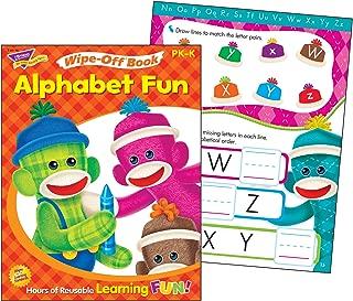 Trend Enterprises Alphabet Fun Sock Monkeys Wipe-Off Book