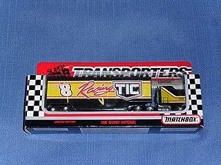 1992 NASCAR Matchbox Super Star . . . Jeff Burton #8 TIC Transporter Diecast Hauler . . . Limited Edition