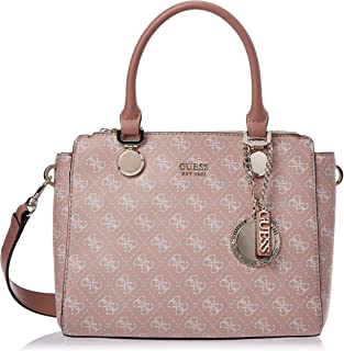 Guess Satchel Bag for Women- Rosewood