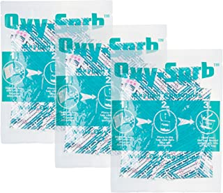 Oxy-Sorb 60-300cc Oxygen Absorbers for Long Term Food Storage (Bags of 20), Blue - 300CC-S20-3PK
