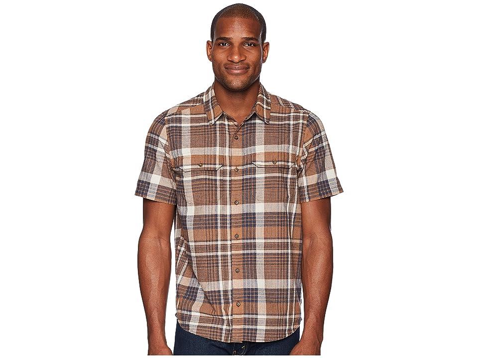 Toad&Co Hookline Short Sleeve Shirt (Tabac) Men