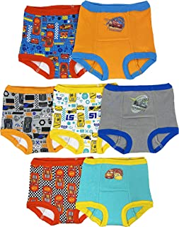 Disney Boys BTP6535 Cars 7 Pack Training Pants Training Underwear - Multi