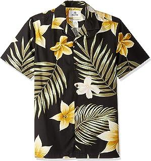 Amazon Brand - 28 Palms Men`s Standard-Fit 100% Cotton Tropical Hawaiian Shirt