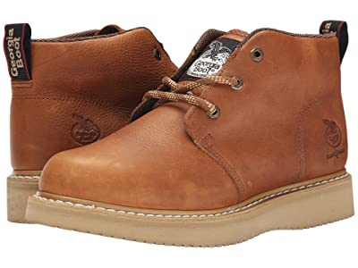 Georgia Boot Chukka Wedge (Baraccuda Gold) Men