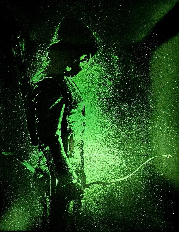 Green Arrow Max 69% OFF Metal Painting Arrowverse CW Leagu Comics DC sale Justice