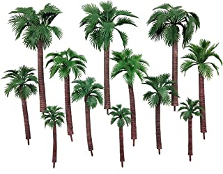 model palm trees
