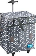 White Magic WM-HC-PLM Handy Cart Trolley Bag, Regular, Platinum Moroccan