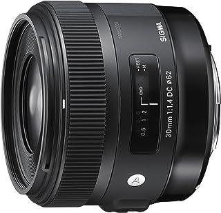 Sigma 30 mm/F 14 DC/HSM - Objetivo para Canon (Distancia Focal Fija 45mm Apertura f/14-16) Negro