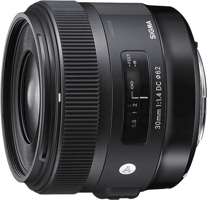 Sigma 30 mm F1.4 DC HSM NA Art - Objetivo para cámara Digitales réflex Montura Nikon Negro