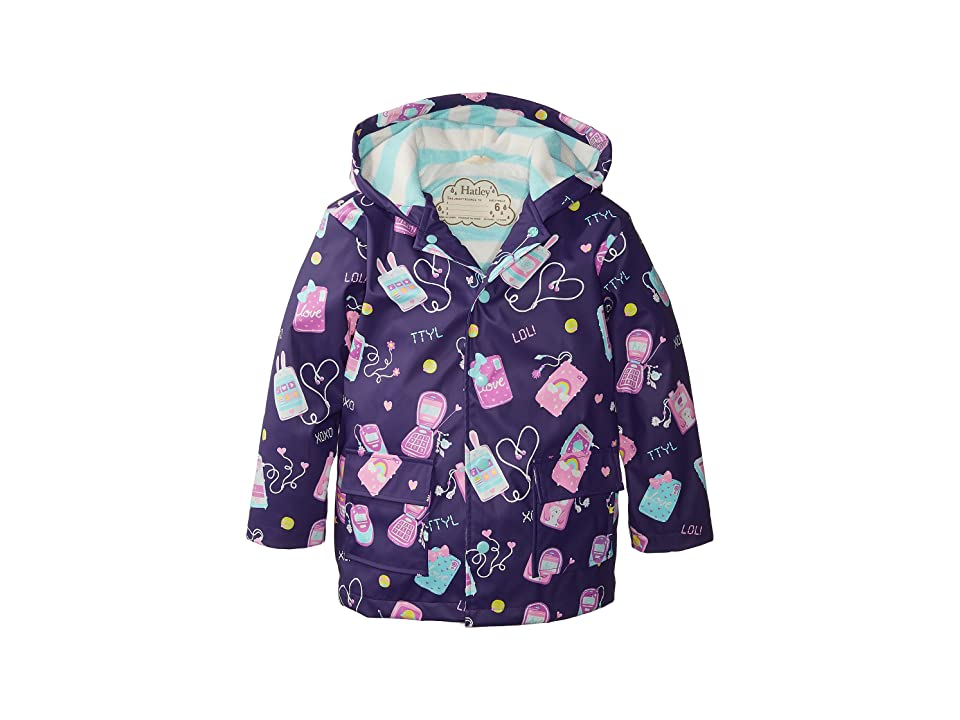 Hatley Kids - Hatley Kids Cool Phones Raincoat