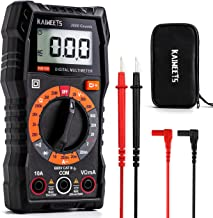 KAIWEETS Multimeter 2000 Counts Digital Multimeter with DC AC Voltmeter, Ohm Volt Amp Test Meter and Continuity Test Diode...
