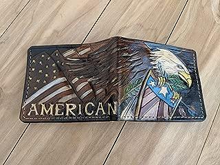 Best patriotic leather wallets Reviews