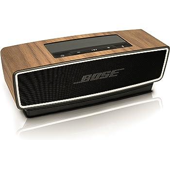 Balolo Bose SoundLink Mini II専用 ウォルナットウッド 木製ケースカバー